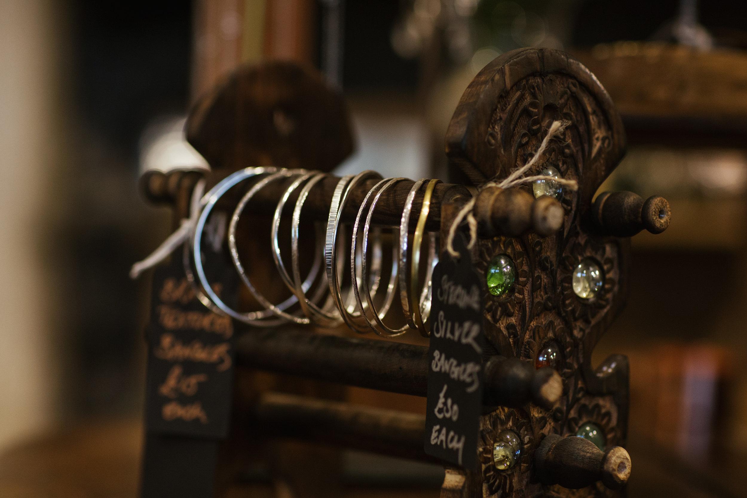 Silver jewellery from Lisa Dakin