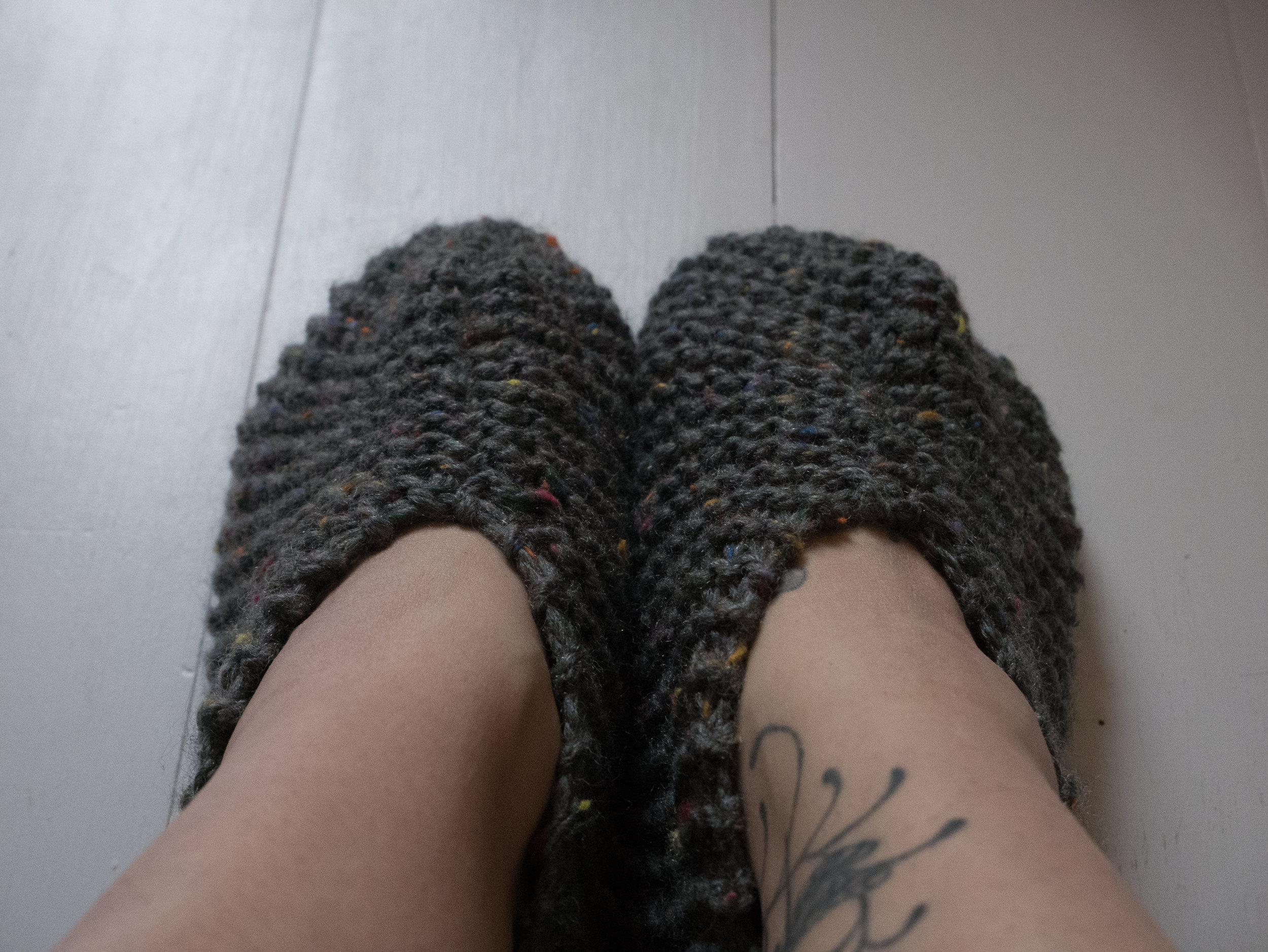 Knit your own slippers - Sun 10th March / 11 - 1.30£40