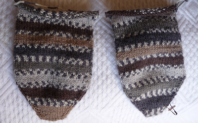 Learn to knit your own socks