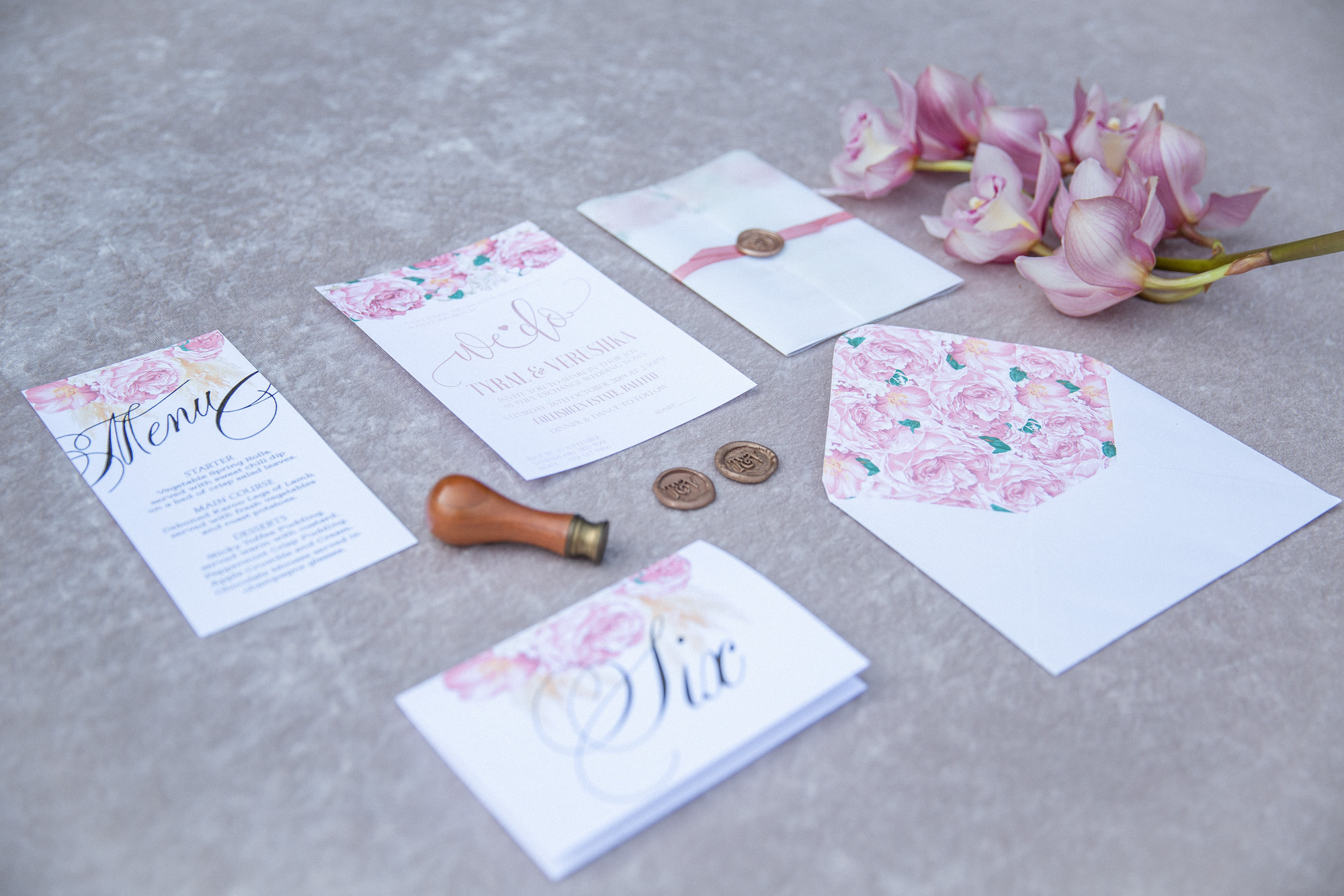 wedding stationery durban