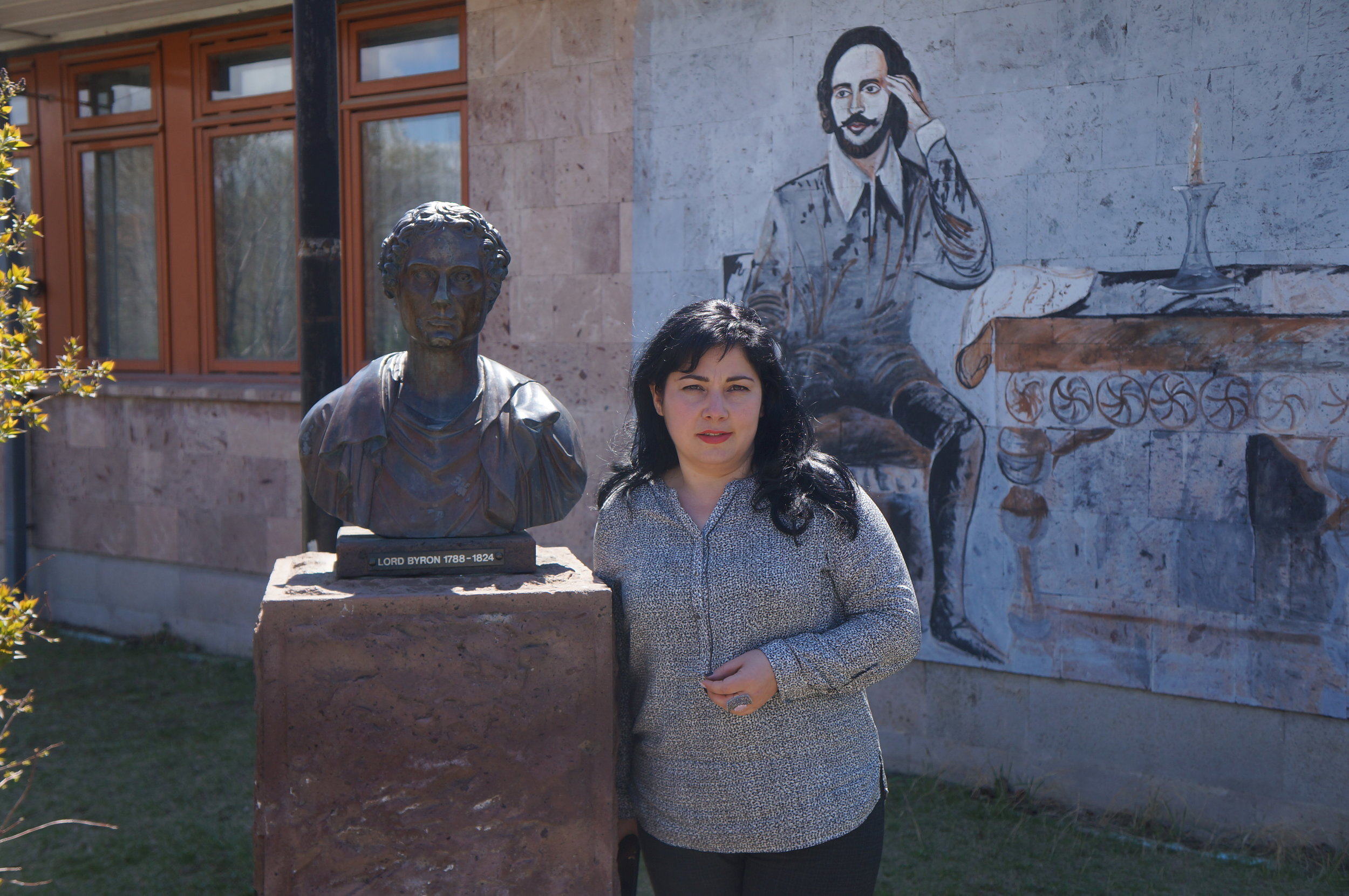 Ohanna Avetisyan - The story of how a young girl lived through an earthquake, met Margaret Thatcher, and became one of Armenia's brightest teachers.