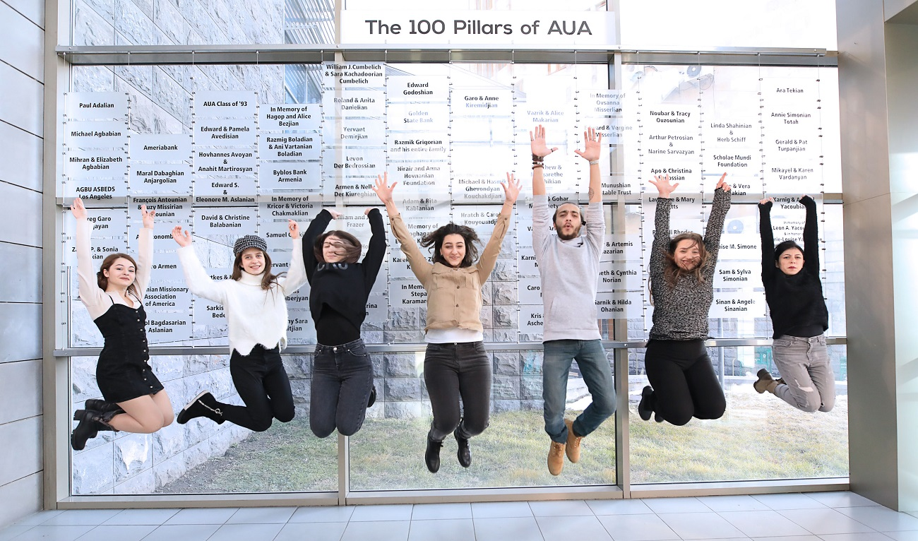 "The ""100 Pillars of AUA"" campaign was created to gather a core group of supporters for the university.  The class of 1993 is one of those pillars."