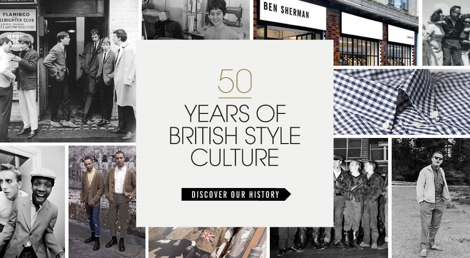 ben sherman - They've been adopted by almost every youth culture or style movement for the last 5 decades – why? Ben Sherman's shirts have a long history of great design, special fabric, pattern and quality.We invite you to convince yourself about these self-evident truths.