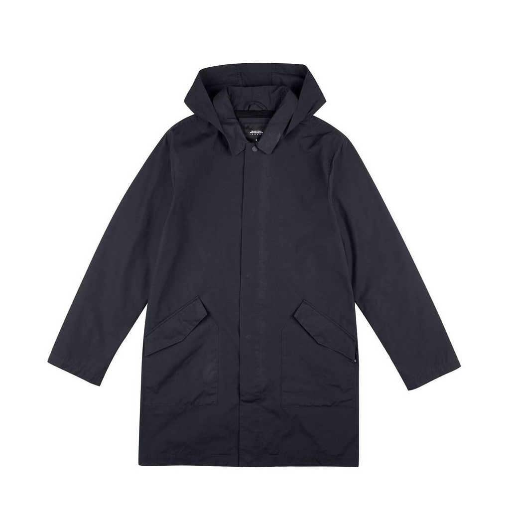 SEASONAL STEALS NOW £15 - This Navy Tech Mac is selling fast. You can still grab yours in the sale now.