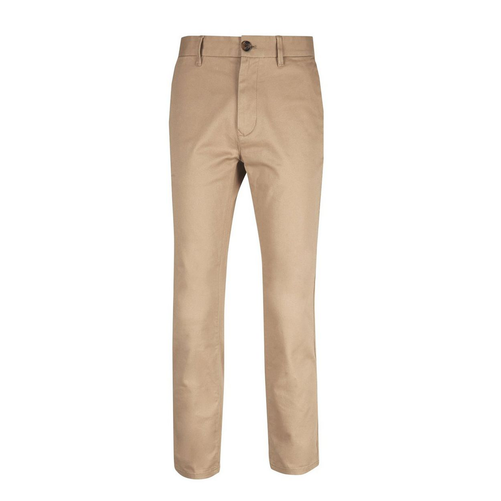 SLIM FIT STRECH CHINOS NOW £15 - A pair of lightweight slim fit chinos perfect for everyday wear.