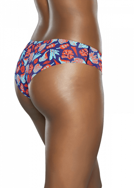 FRESH PERSPECTIVE - Comfy and stylish for years to come – you'll love Under the Sea cheekies for women.