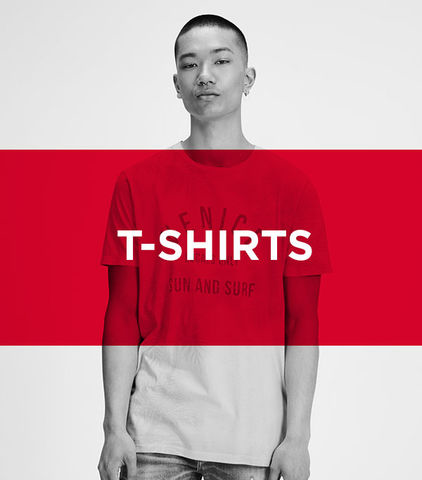 men's t-shirts sale - Jack & Jones discounted t-shirts come in a variety of designs and colours. Now's the time to save up to 70% off on great t-shirt pieces, an indispensable part of your wardrobe. Grab your favourite t-shirts whilst stocks last!