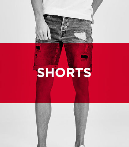 save up to 70% - Get your wardrobe ready for summer with new cool men's shorts from JACK & JONES' large sale and save up to 70% off on discounted styles.