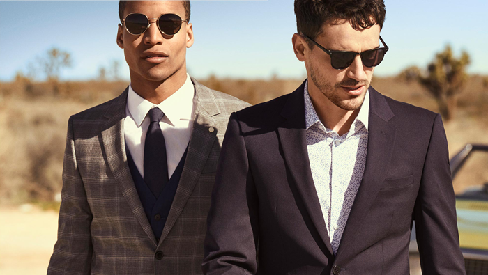 FREE SHOES WHEN YOU BUY A SUIT - It's as simple as:Picking your favourite full-price suit.Add shoes from the selection available. Your discount will be automatically applied at checkout