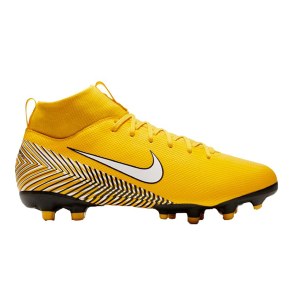 boy's discounted footwear - Grade-School Kids' Nike Jr. Superfly 6 Academy (MG) Multi-Ground Football Boot features a low-profile Dynamic Fit collar and a synthetic upper that wraps your foot for a glove-like fit. The 2-part podular plate system provides responsive speed on natural and artificial pitches alike.