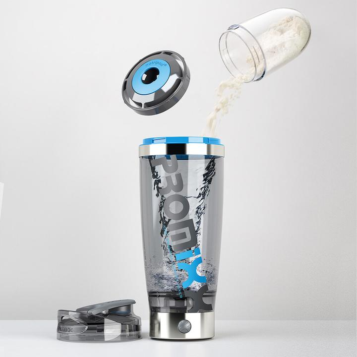 PROMiXX® iX-R Rechargeable Vortex Mixer / Shaker Bottle - Lithium-Ion, High Powered Vortex Mixer and the World's Most Advanced Electric Mixer Bottle.