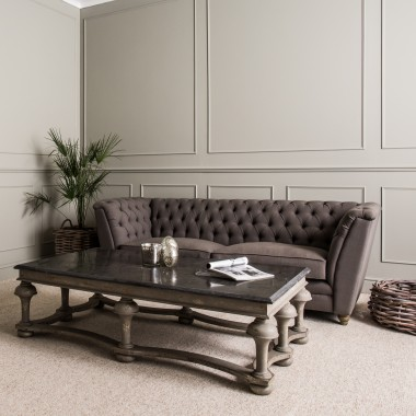 woodcroft colonial coffee table - Embrace the perfect place to put your feet up after a long day, with space to keep your magazines and books at arms reach.