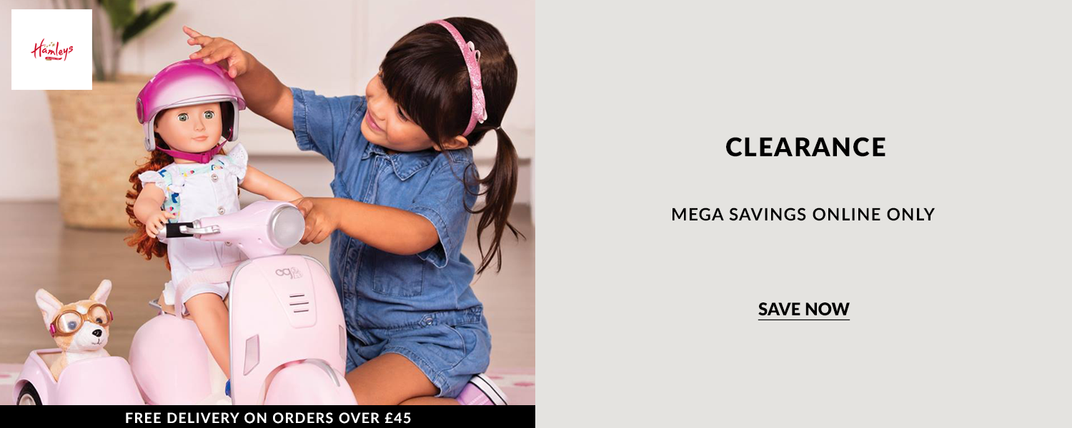 Hamley mega savings with this live Clearance. Offer valid online only.