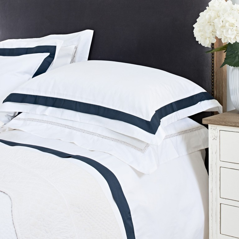 luxury bed linen from £19 - Dress up your bed with Brissi`s collection of cotton bed linen for the perfect night's sleep .