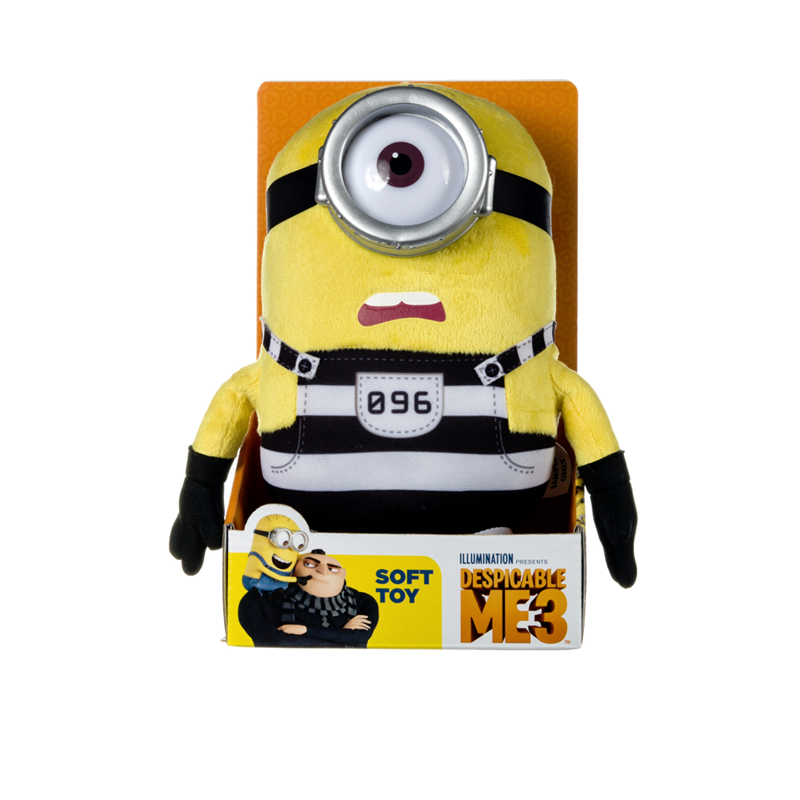 Despicable Me soft toy now £10 - A very cute character from the movie everyone is talking about, Despicable Me 3. Meet the lovable Minion Stuart!