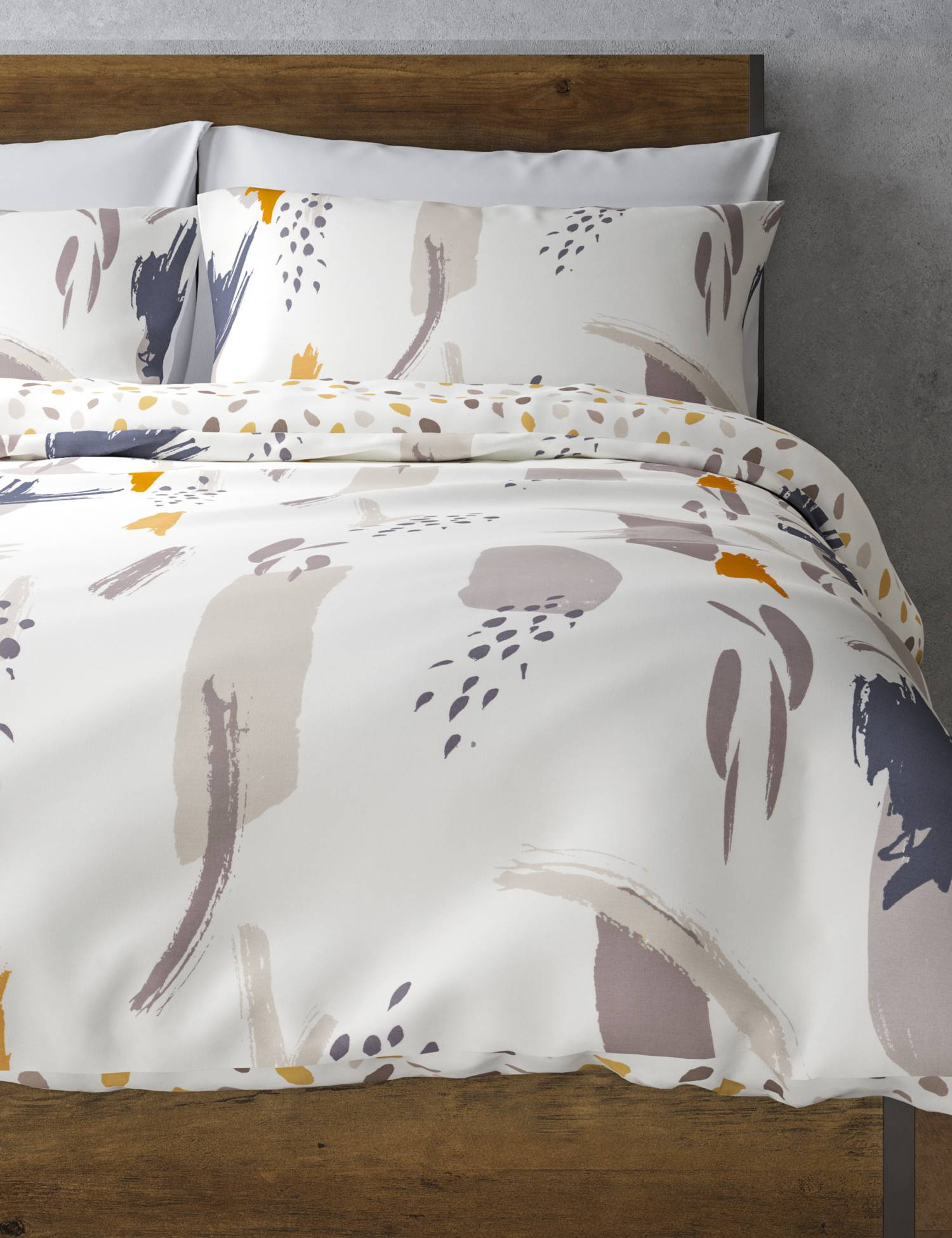 Olivia Printed Bedding Set from £19.50 - With one pillowcase and a duvet cover in the single set and two pillowcases and a duvet cover in other sizes, you'll have everything you need to create a complete look with this bed set.