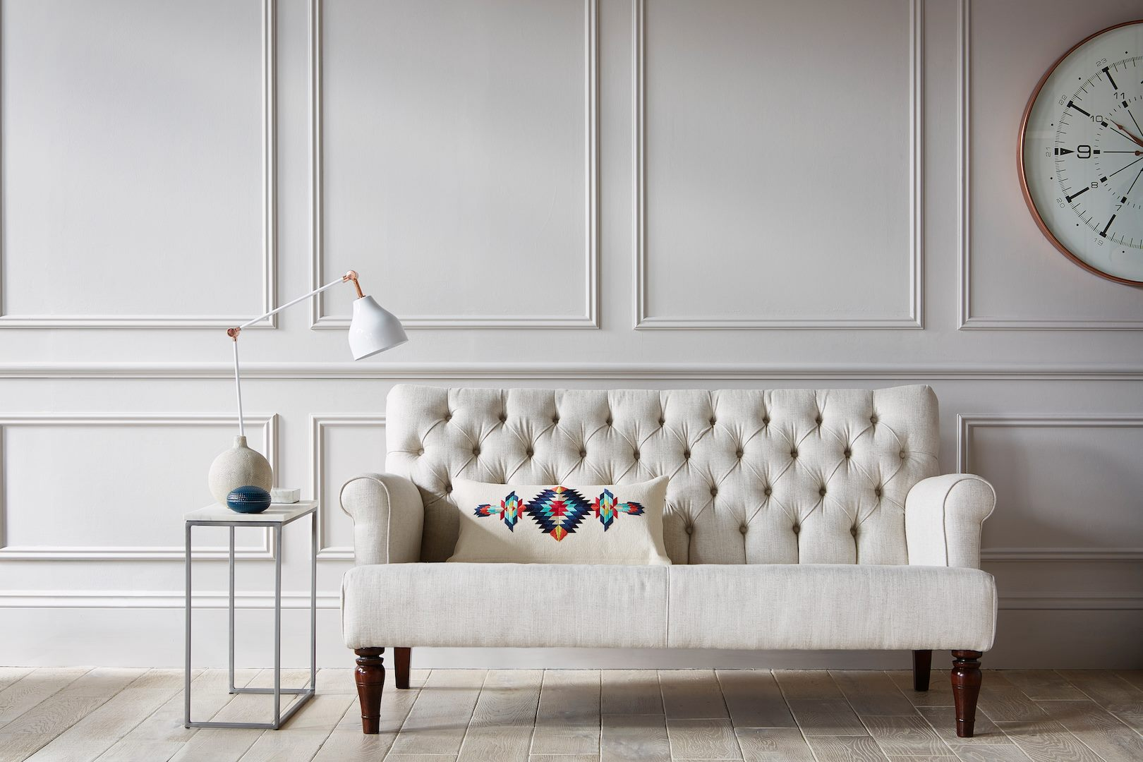 darlings of chelsea - The quality of fine British craftsmanship - with the added bonus of faster delivery times and your own account manager to take you from purchase through styling your dream house.