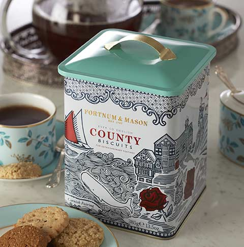 What's Tea Without Biscuits? - Biscuits are one of our favourite things at Fortnum's, and we go to great lengths to ensure ours are the very best.