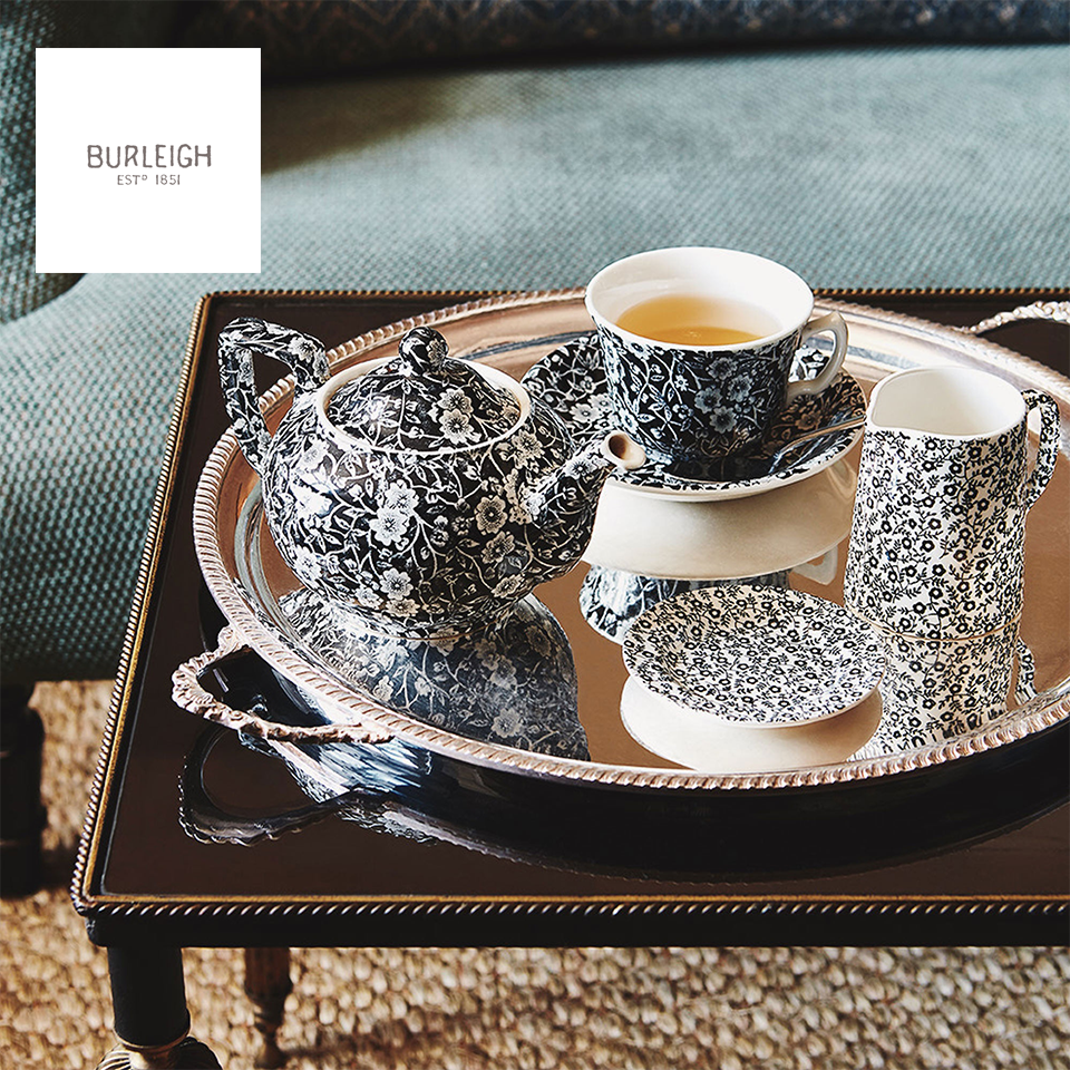 Win Burleigh x Soho Home Calico Teapot -