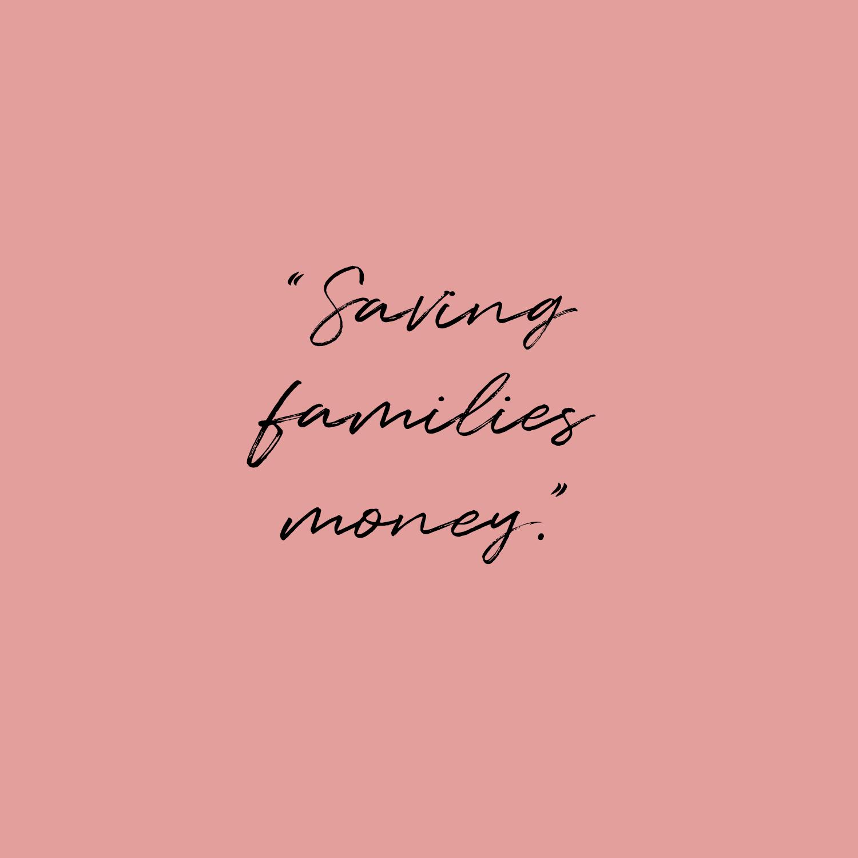 Kidspass quote: saving families money