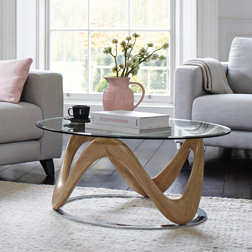 sophisticated & fun tables from £49 - Discover a huge choice of beautiful living room tables, in many shapes and sizes at affordable prices. Coffee tables, lamp tables and console tables. You're guaranteed to find everything you need to help you display your style in the most liveable and welcoming room in the house.