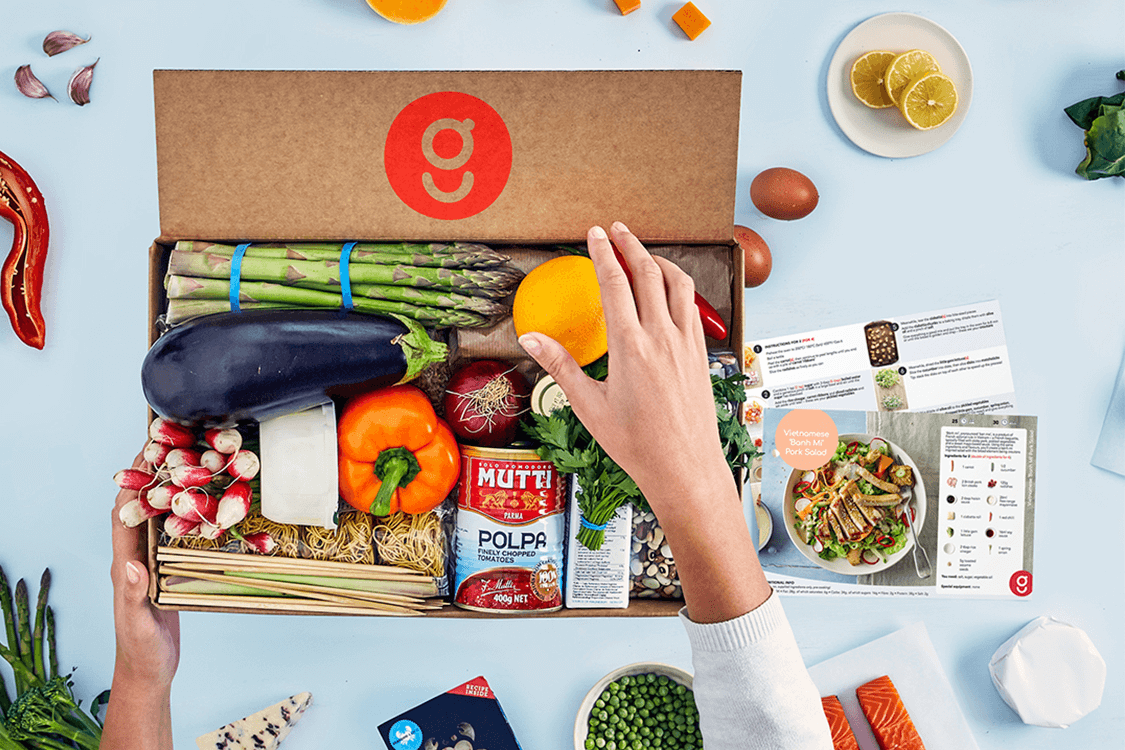 WIN three months of free gousto - *one free box a month for 3 months.