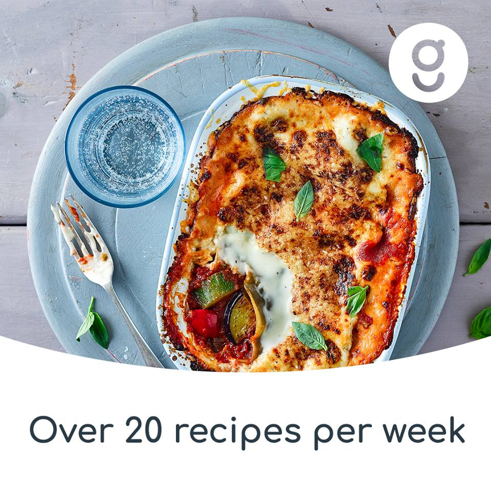 Over 40 recipes to chose from