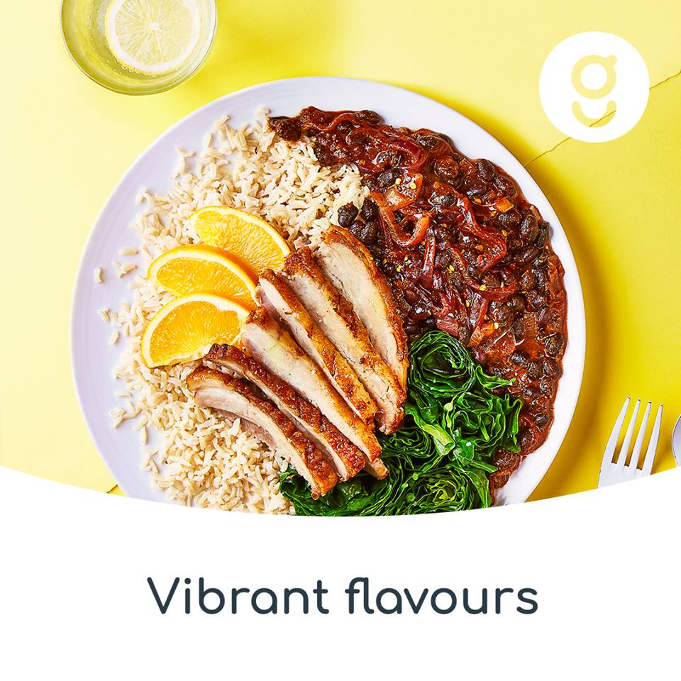 Vibrant home made food flavours