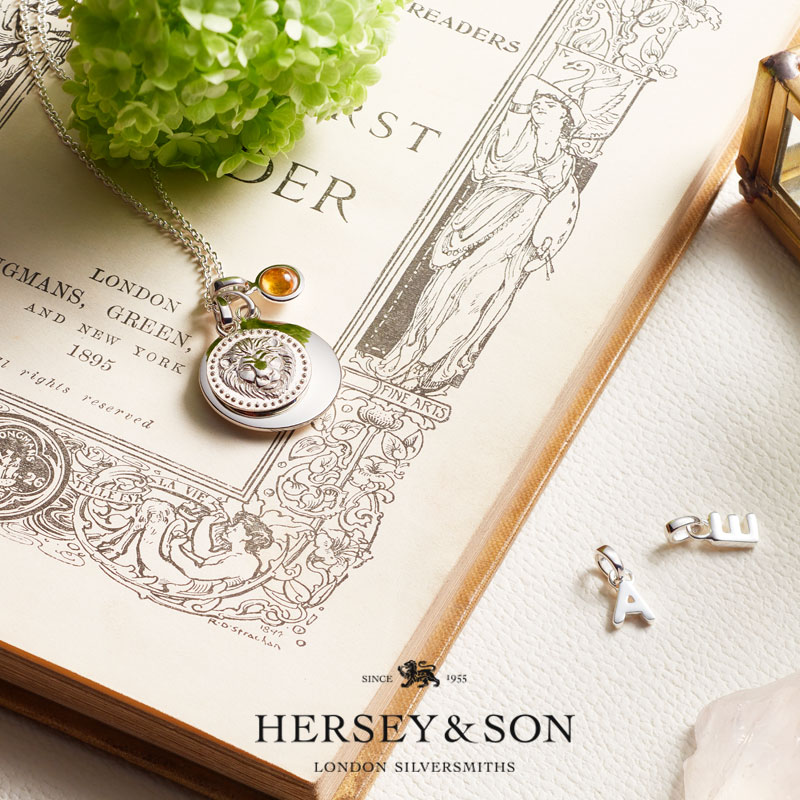 WIN a charm NECKLACE from hersey & son -