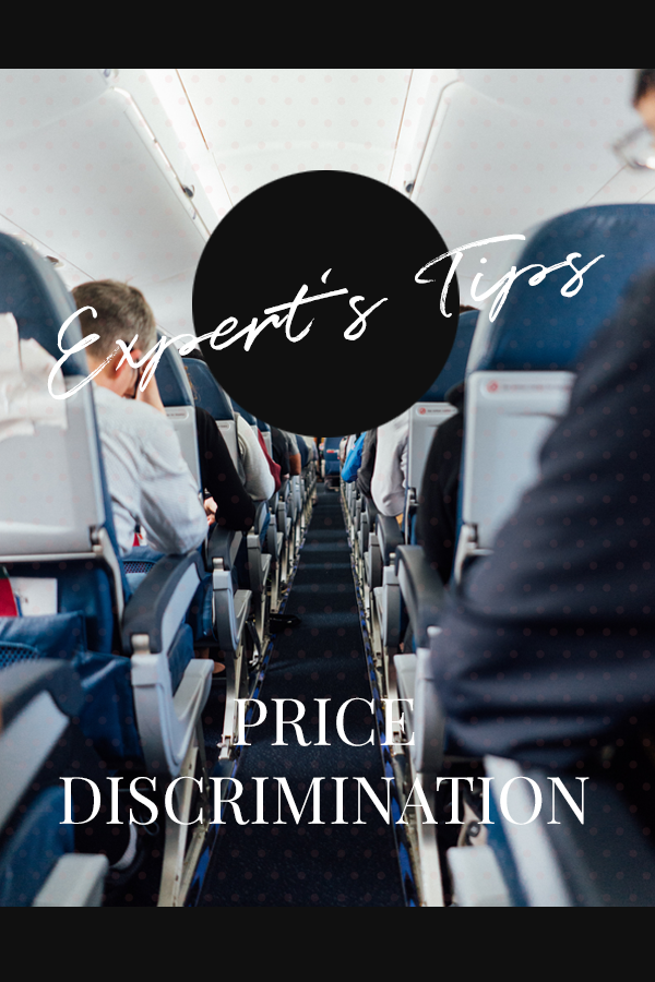 Expert tips on price discrimination on online shopping