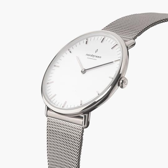 nordgreen native from £149 - Combining great aesthetics with functionality, you'll be spoilt with choices when it comes to choosing your watch. If you love balance, rounded cases, a clean subtle dial and light grey minute mark then Native is your perfect match.