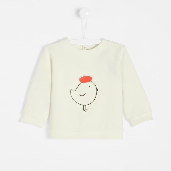 Jacadi baby boy fleece sweatshirt