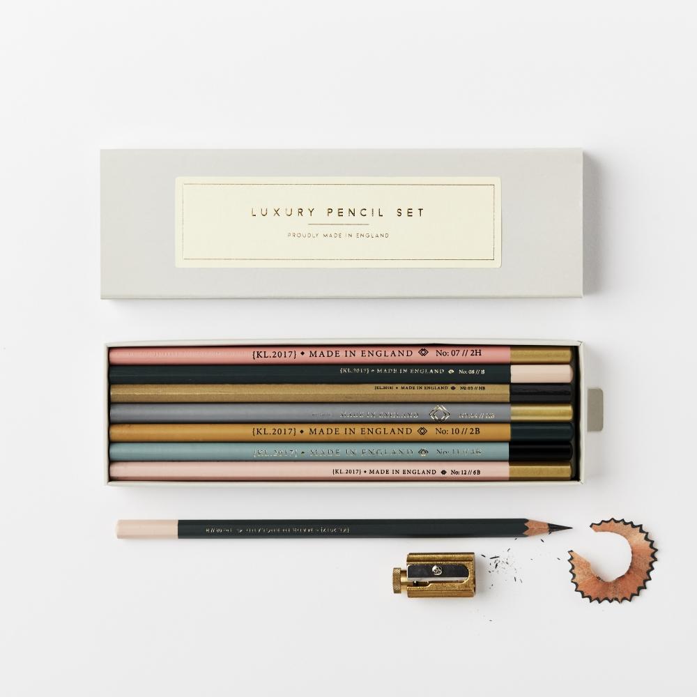 Multiple colour pencils by Katie Lemon