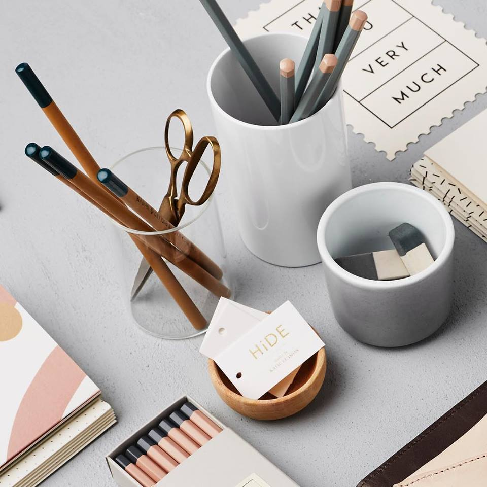 PENCILS AND STATIONERY BY KATIE LEAMON