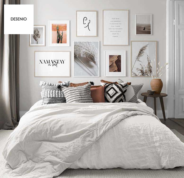 Win £200 to spend on desenio prints & posters - At Desenio you will always find inspiration for you interior style, whether you want to decorate a bedroom, a small hallway, an office or an entire home.Competition closes on the 27th August 2019.