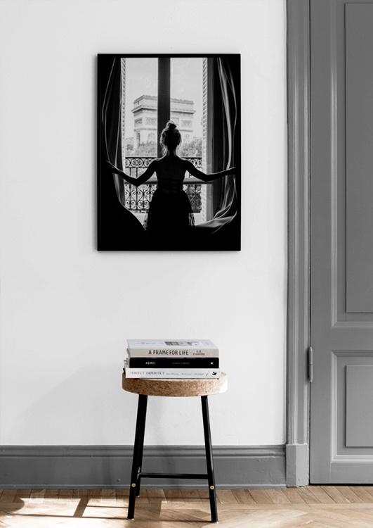 GIRL IN WINDOW POSTER by desenio scandinavian company