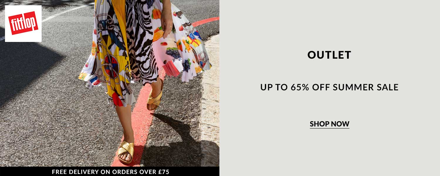 Shop using FitFlop discount and voucher codes and reduce the costs of your online shopping. Live FitFlop offer, outlet sale discounted up to 65% Off with discount code. Shop now.