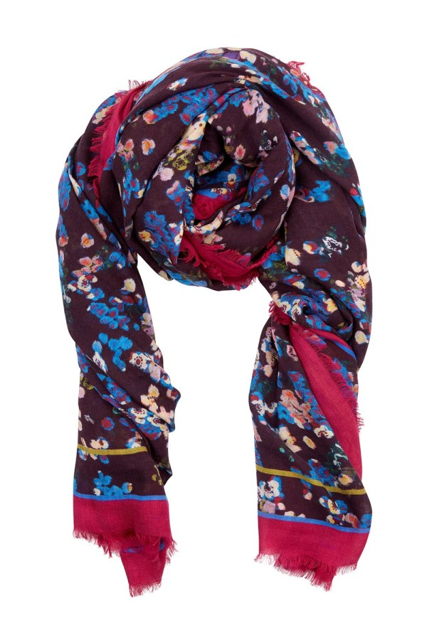 Beulah London BERRY PRINT SHAWL SCARF