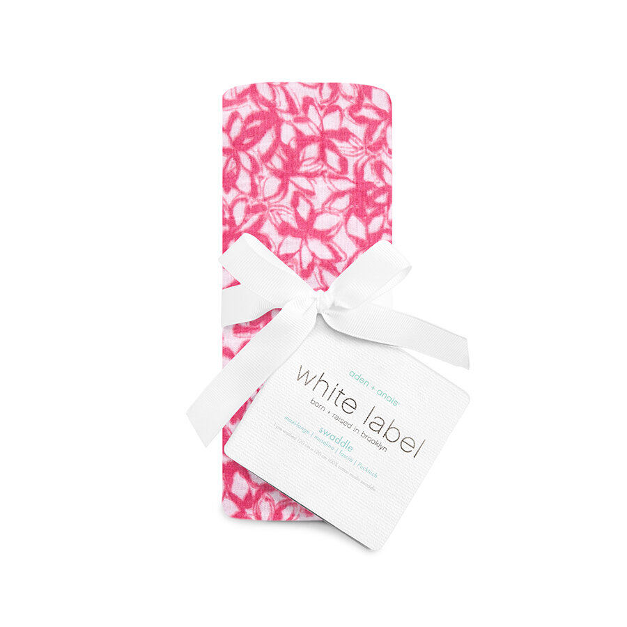 discounted classic swaddle now £7.50 - Generations of parents have cared for their babies with muslins. Breathable, versatile and soft as a mother's touch, the do-it-all fabric helps simplify what can be a chaotic time. No matter how you're using Aden & Anais 100% cotton muslin swaddle—pram cover, burp cloth or nursing cover to name just a few—it surrounds your little one in comfy goodness round the clock.
