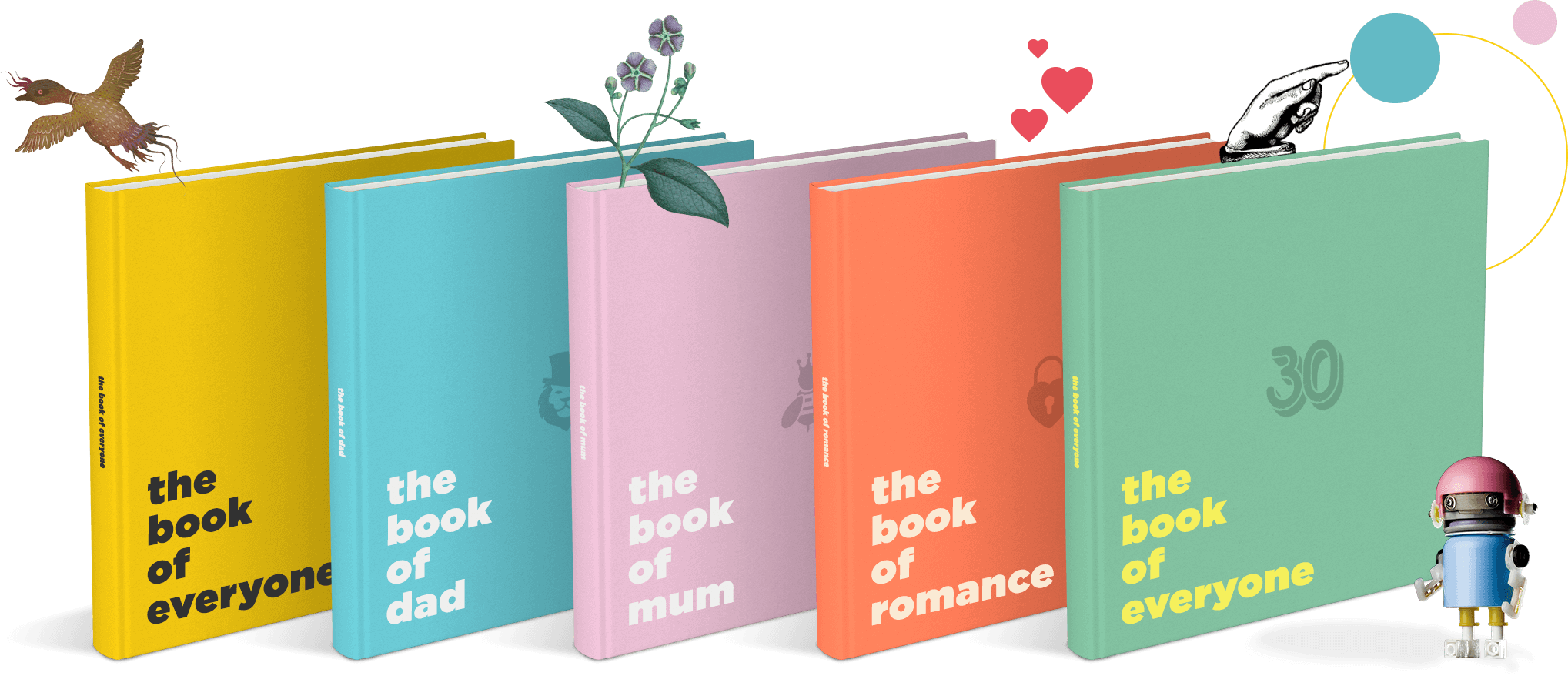 Personalised books and gifts