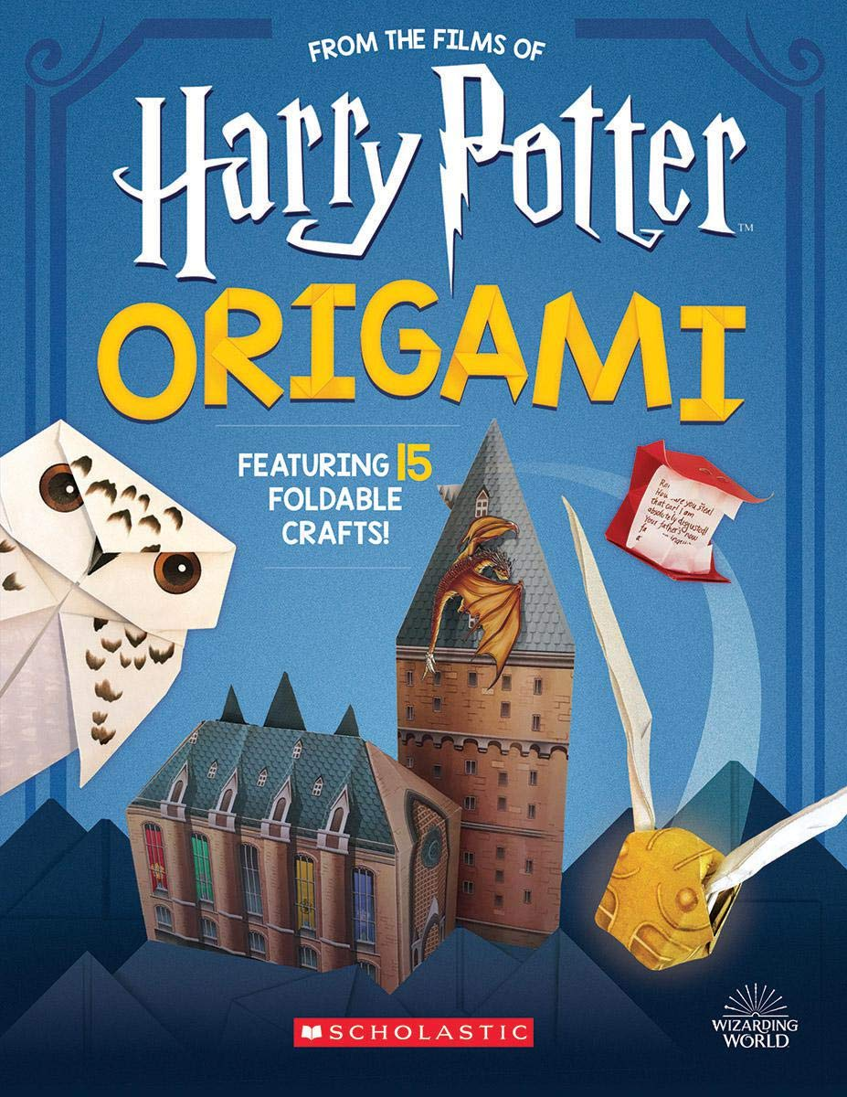 Children's books - Discover Origami 15 Paper folding straight from the wizarding world