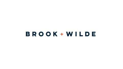 Brook + Wilde Logo to the original shop