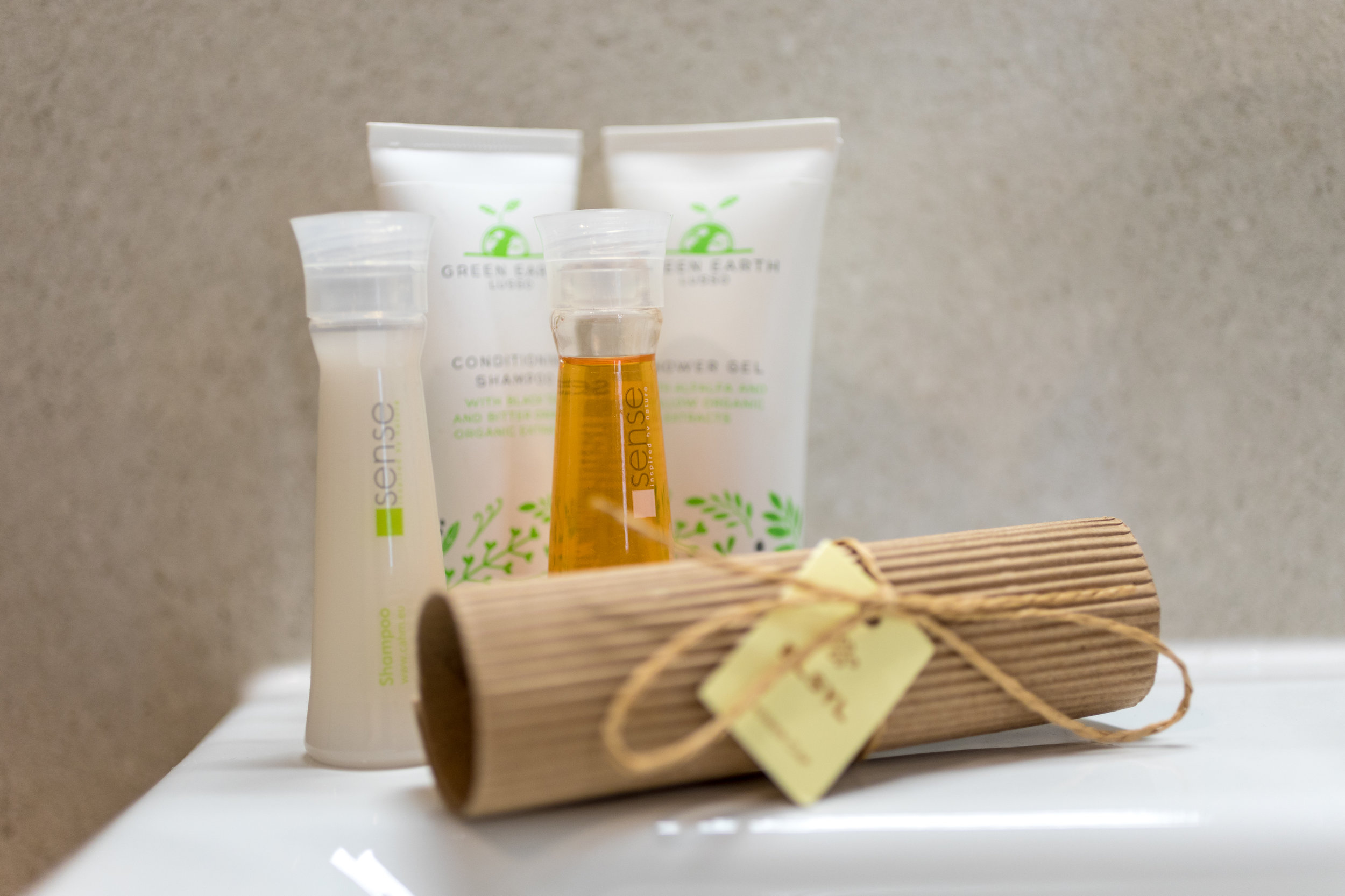 Locally sourced toiletries