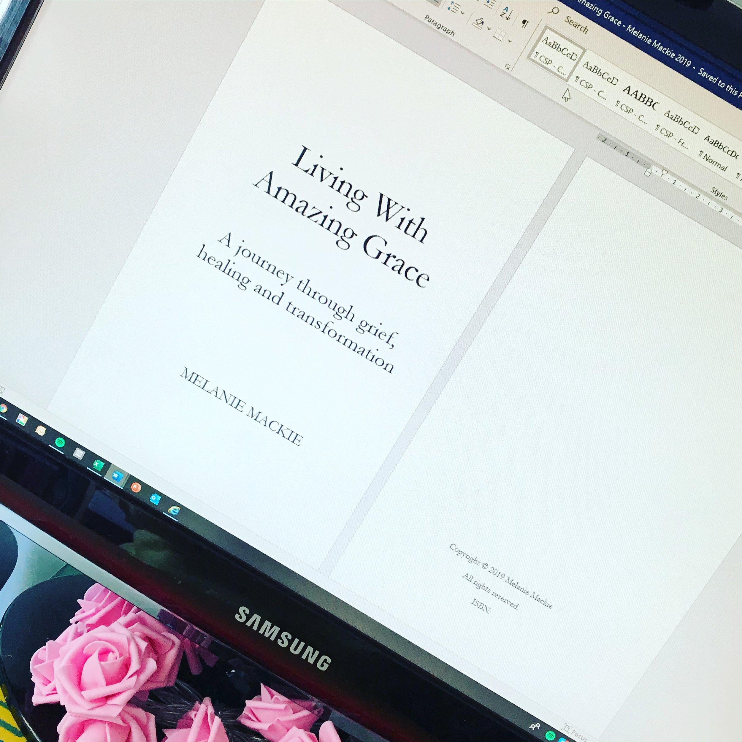 Melanie Mackie Living With Amazing Grace