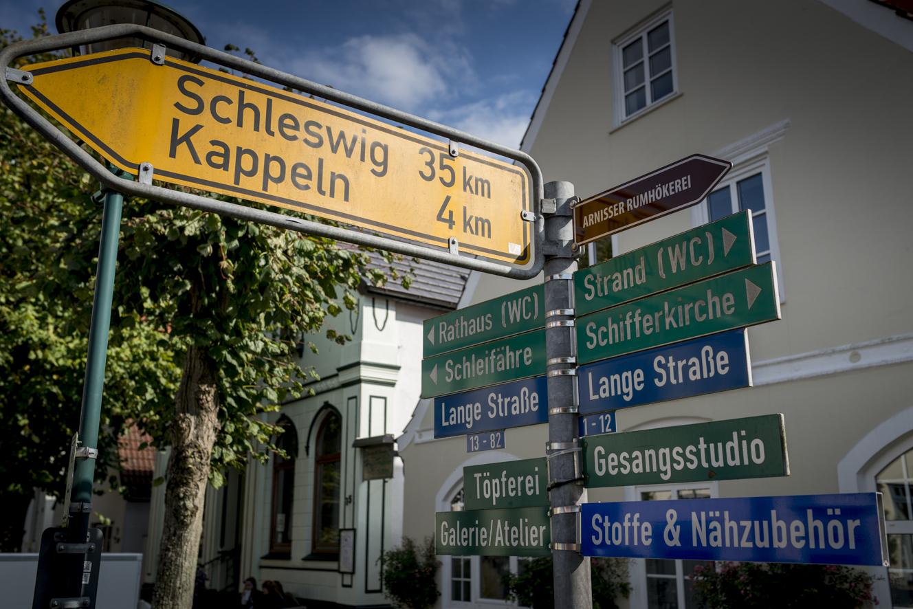 Nur eine Straße - aber die ist sooo schön (Copyright: Axel Martens)