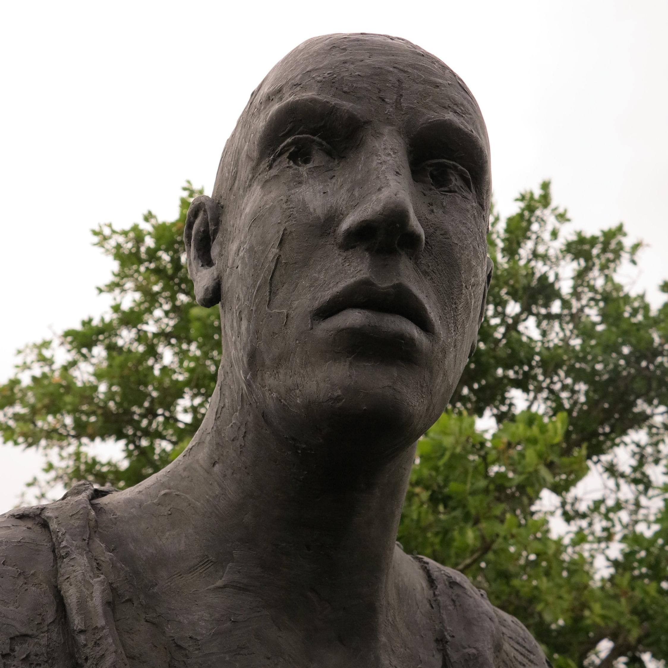 Eine Bronze der Künstlerin  Hanneke Beaumont
