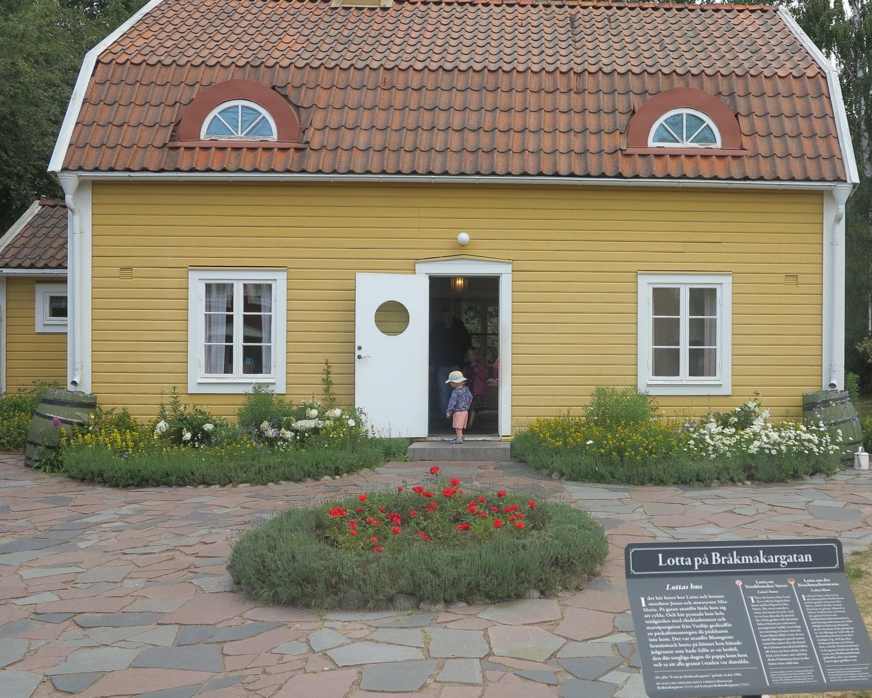 Wie echt: Lottas Haus in der Krachmacherstraße