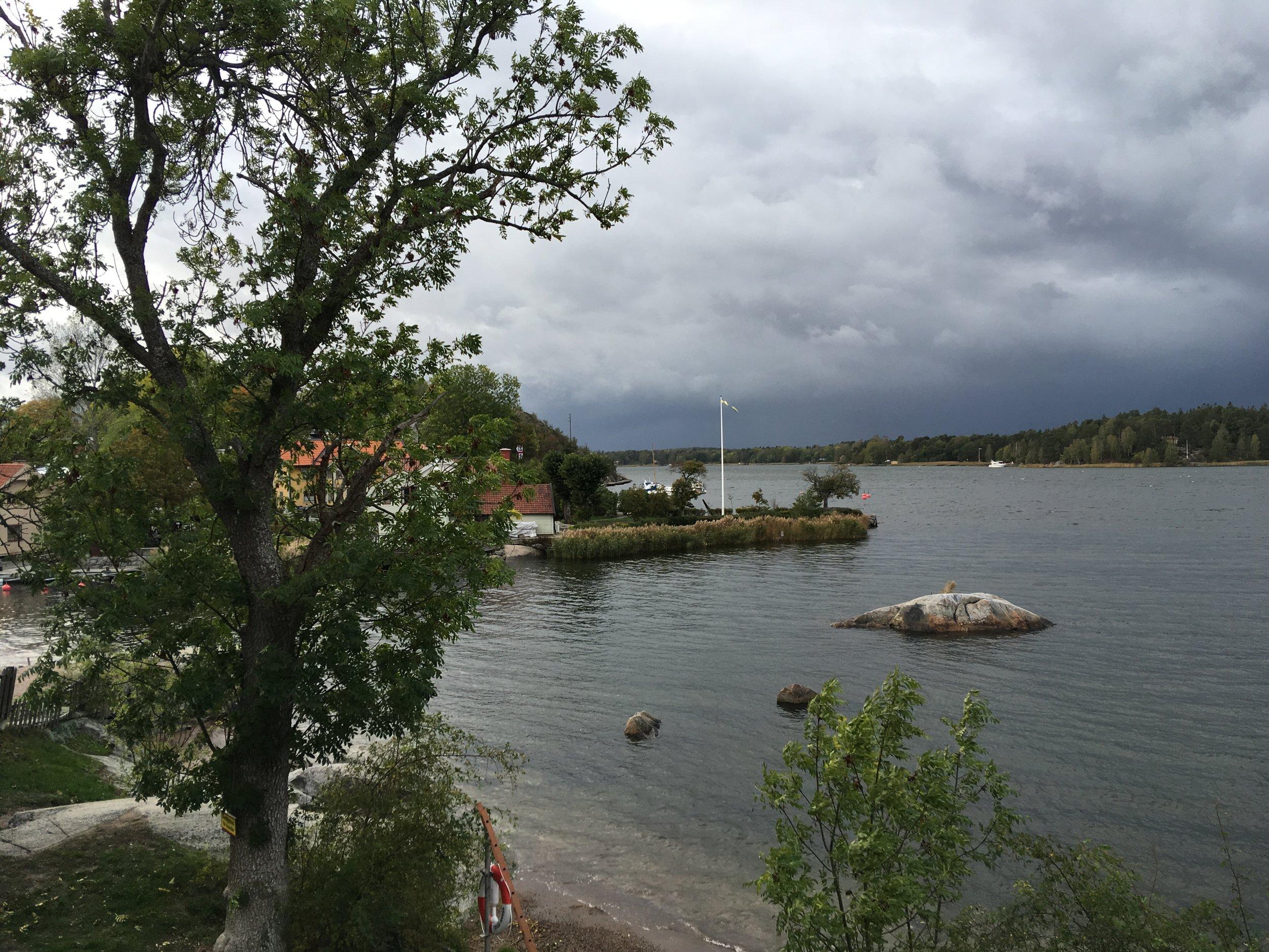 Der alte Hafen von Vaxholm