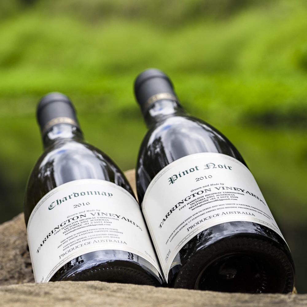 Tarrington Chardonnay 2016 + Pinot Noir 2010-1.jpg