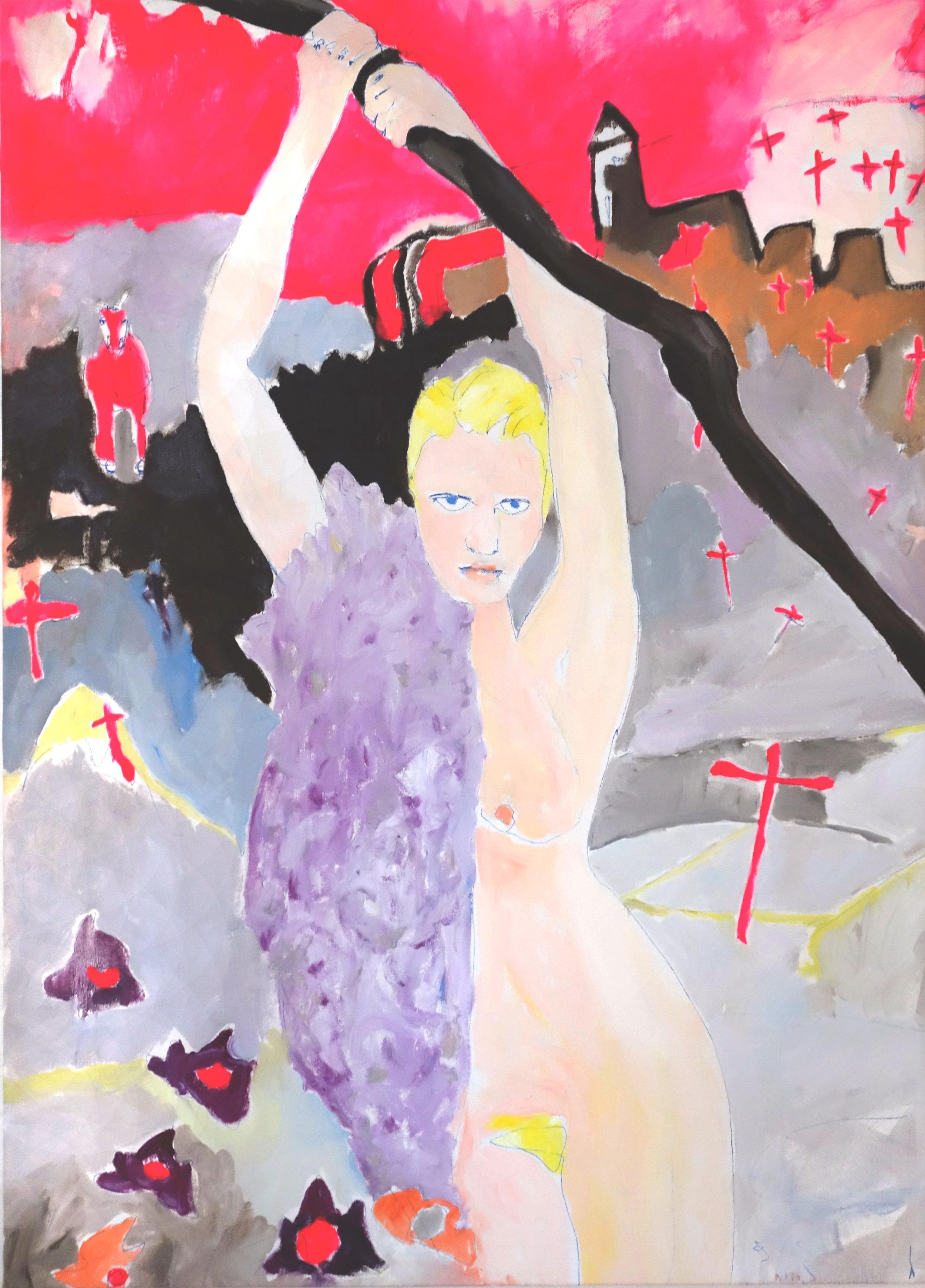 Church oil on canvas 100 x 125 cm, 2016